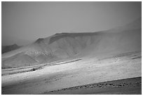 Inyo Mountains  in stormy weather. California, USA (black and white)