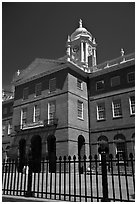 Old Connecticut State House. Hartford, Connecticut, USA ( black and white)