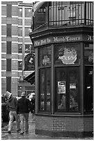 Tavern, oldest in the country. Boston, Massachussets, USA ( black and white)