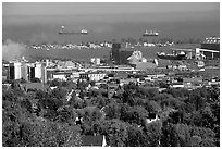 Duluth. Minnesota, USA ( black and white)