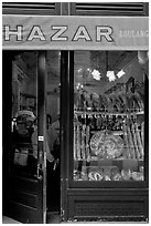 Balthazar french bakery. NYC, New York, USA (black and white)