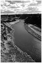 Snake River. Idaho, USA (black and white)