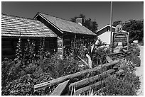 Historical Museum, Eastsound, Orcas Island. Washington ( black and white)