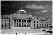 Capitol. San Juan, Puerto Rico (black and white)