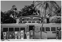 General store, Captiva Island. Florida, USA ( black and white)