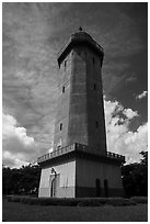 Alhambra Water Tower. Coral Gables, Florida, USA ( black and white)