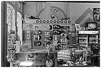 Front counter, Sun record company. Nashville, Tennessee, USA (black and white)