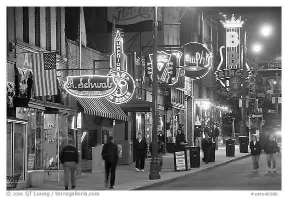 Memphis black and white
