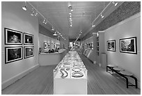 Gallery of fine art. Telluride, Colorado, USA ( black and white)