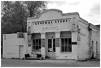 General store. Nevada, USA (black and white)