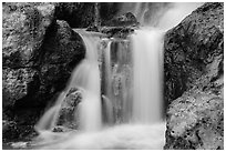 Cascades, Fairy Stream. Mui Ne, Vietnam ( black and white)