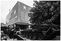 War Remnants Museum, district 3. Ho Chi Minh City, Vietnam (black and white)