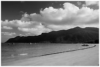 An Hai Beach, Con Son. Con Dao Islands, Vietnam ( black and white)