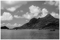 Hon Ba Island. Con Dao Islands, Vietnam ( black and white)