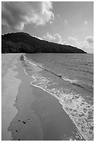 Dam Trau Beach. Con Dao Islands, Vietnam ( black and white)