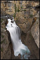 Waterfall of Nigel Creek. Banff National Park, Canadian Rockies, Alberta, Canada ( color)