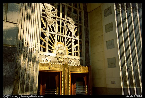 Picture Photo Ornate Art Deco Marine Building Entrance