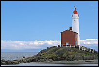 Oldest lightouse on the Canadian West Coast. Victoria, British Columbia, Canada