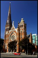 Church. Victoria, British Columbia, Canada (color)