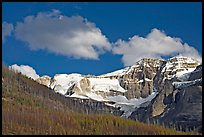 Stanley Glacier, afternoon. Kootenay National Park, Canadian Rockies, British Columbia, Canada