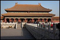 Palace of Heavenly Purity, Forbidden City. Beijing, China (color)