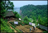 Cultures on Wuyou Hill. Leshan, Sichuan, China