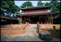 Daxiong temple. Leshan, Sichuan, China (color)