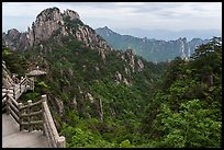 Trail. Huangshan Mountain, China ( color)