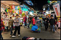 Shilin Night Market. Taipei, Taiwan (color)