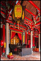 Chongsheng Shrine, Confuscius Temple. Taipei, Taiwan ( color)