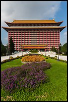 Yuanshan Grand Hotel, in Chinese classical style. Taipei, Taiwan ( color)