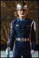 Honor Guard, Martyrs Shrine. Taipei, Taiwan (color)