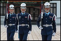 Republic of China Military guards,. Taipei, Taiwan (color)