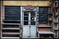 Old storefront. Lukang, Taiwan (color)