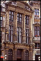 Brewers' guidhall. Brussels, Belgium (color)