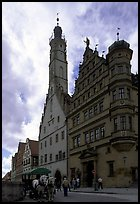 Rathaus. Rothenburg ob der Tauber, Bavaria, Germany ( color)
