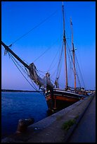 Two-masted Sailboat, Vastervik. Gotaland, Sweden ( color)