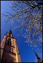 Cathedral in French gothic style, Uppsala. Uppland, Sweden ( color)