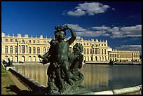 Versailles Palace. France (color)