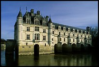 Chenonceaux chateau. Loire Valley, France ( color)