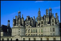 Chambord chateau. Loire Valley, France ( color)
