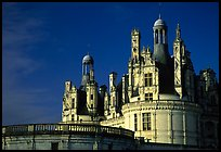 Chambord chateau. Loire Valley, France (color)