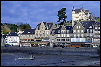 Waterfront of Cancale. Brittany, France (color)