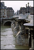 The Pont-neuf. Paris, France
