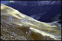 Col de la Cayolle. Maritime Alps, France (color)
