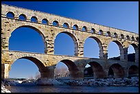 Pont du Gard. France (color)