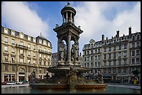 Place des Jacobins. Lyon, France ( color)
