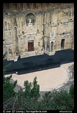 Ancient Roman Theatre, Orange. Provence, France (color)