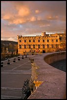 Petit Palais at sunset. Avignon, Provence, France ( color)