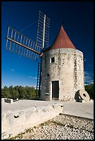 Alphonse Daudet Moulin, Fontvielle. Provence, France (color)